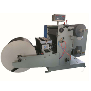 Paper Roll Slitting And Rewinding Machine